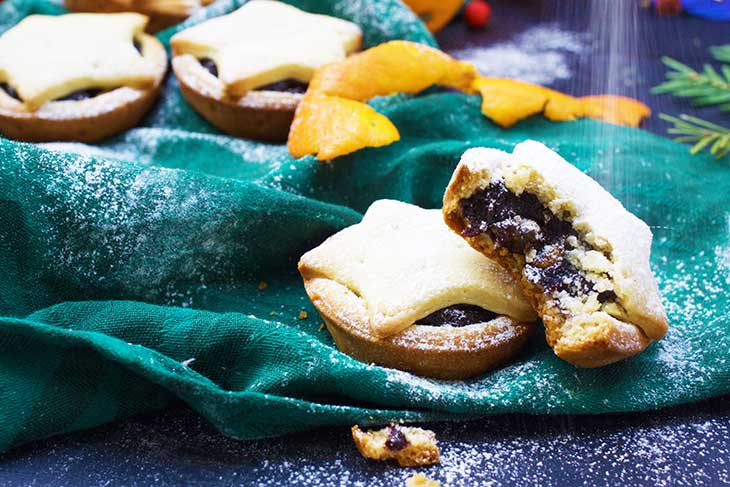 Vegan Mince Pies christmas recipe
