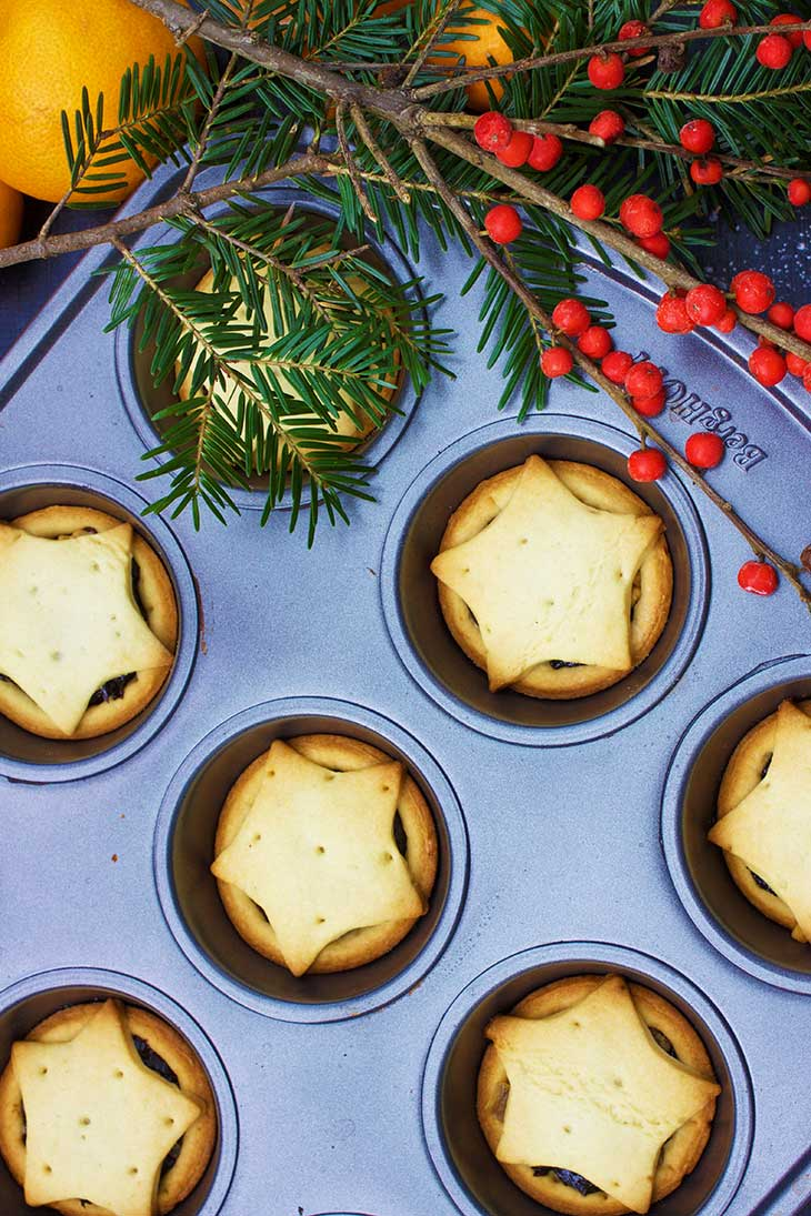 quick Vegan Mince Pies
