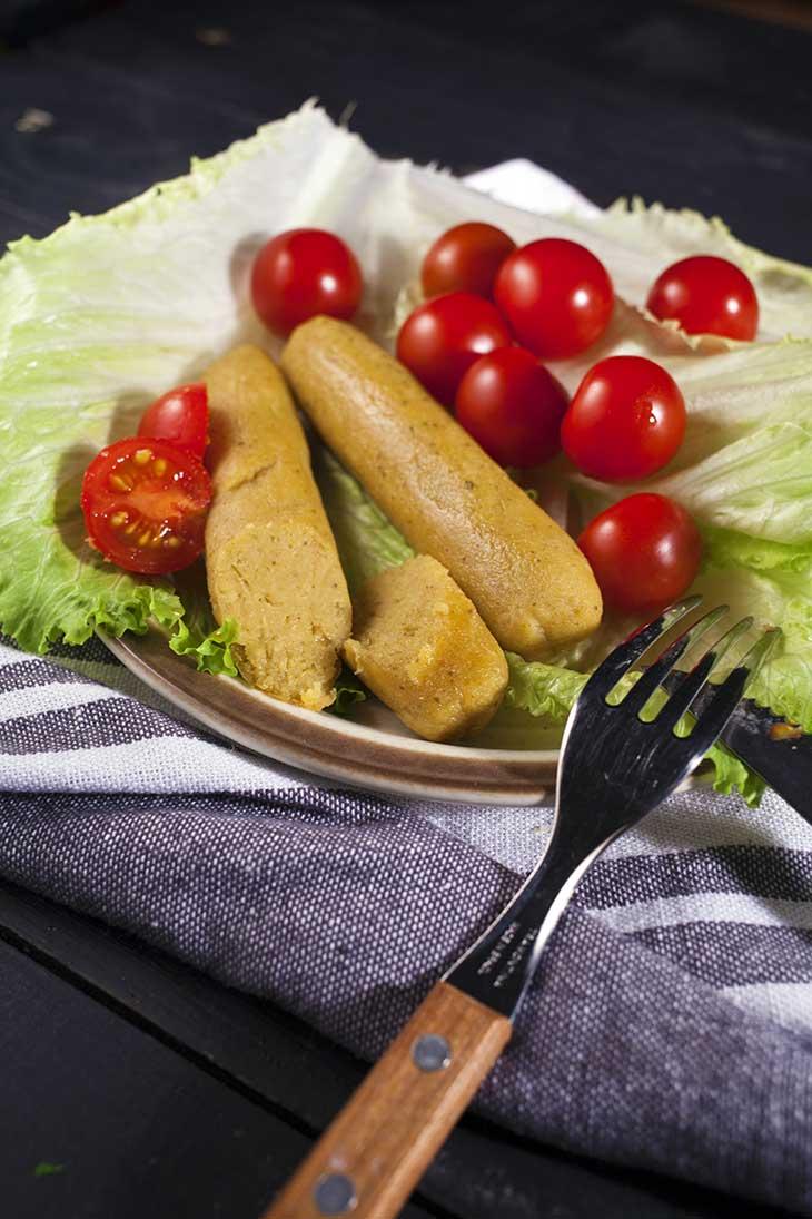 homemade vegan sausages recipe no seitan