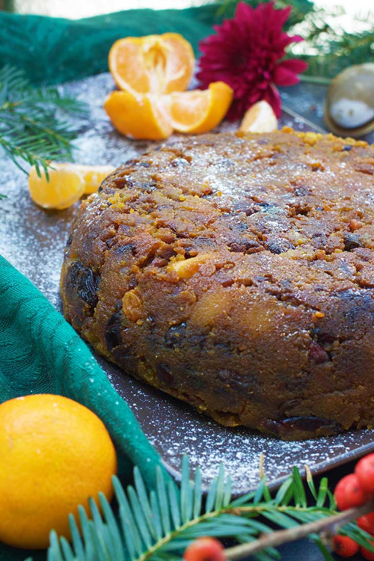 how to make Vegan Christmas Pudding