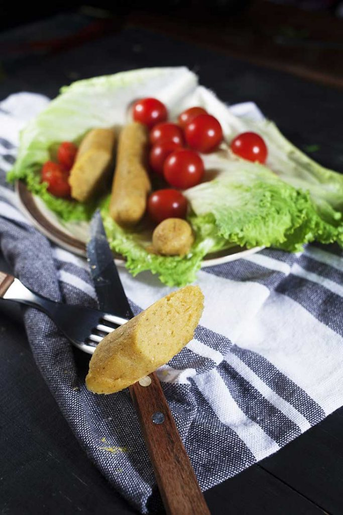 how to make vegan sausages at home carnati de post vegani
