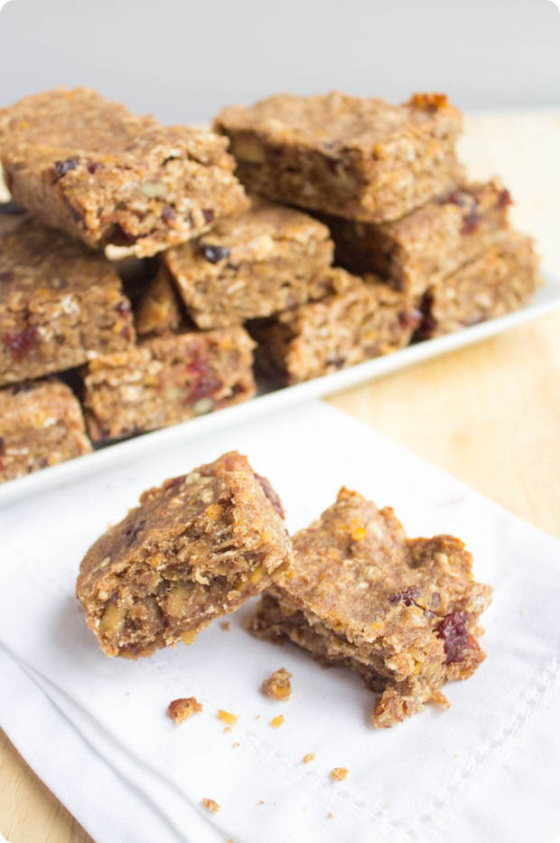 Red Lentil Granola Bar