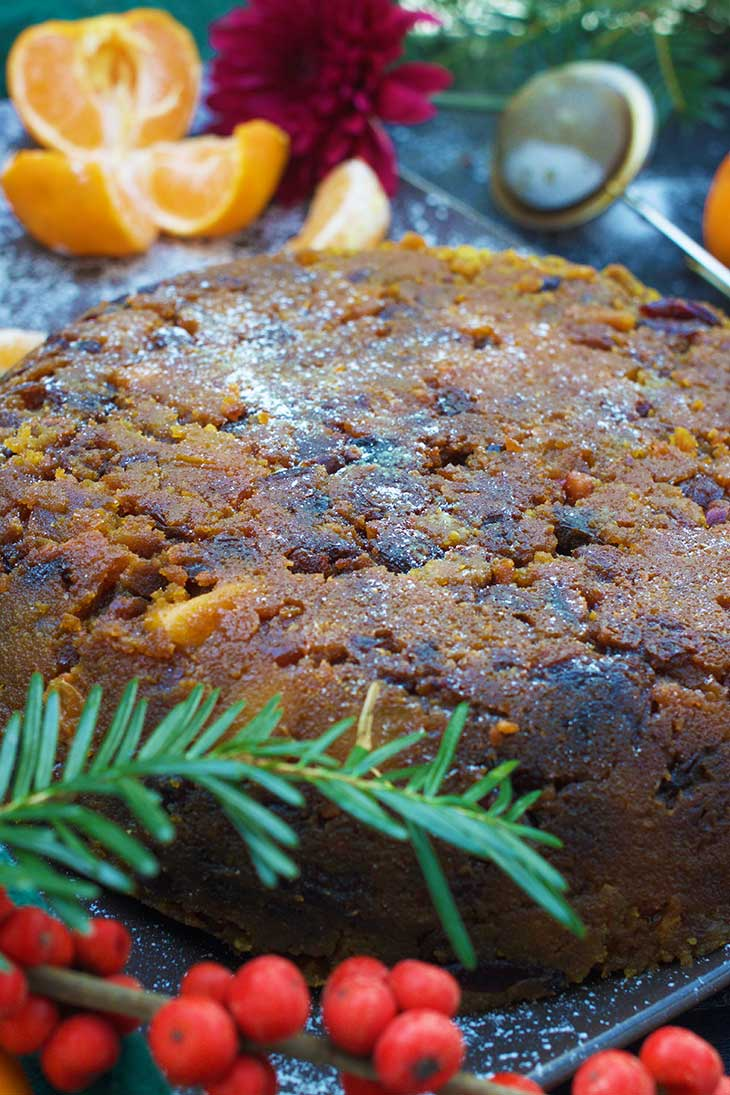 step by step recipe for Vegan Christmas Pudding