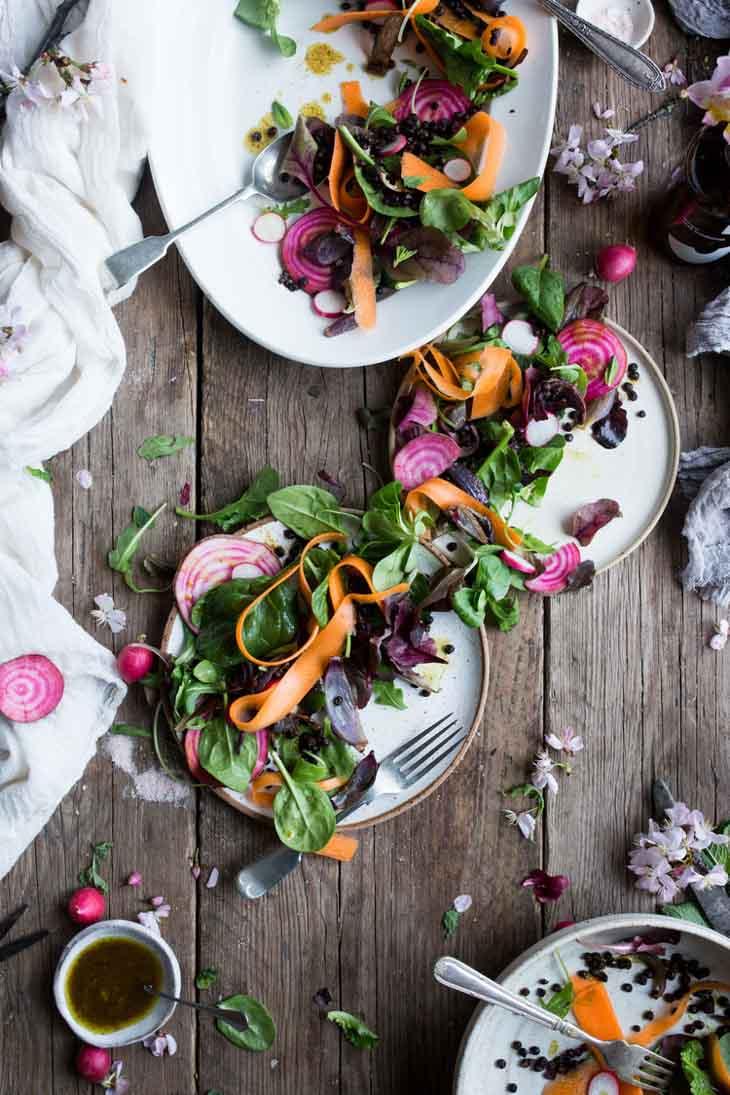Vegan Protein Lentil Salad