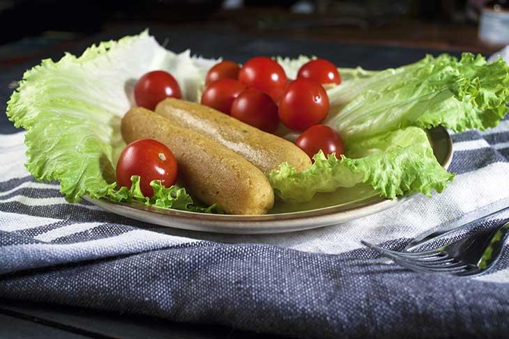 vegan sausages recipe carnati de post vegani