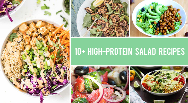 10+ High-Protein Salad Recipes That Excel at Both Taste and Texture