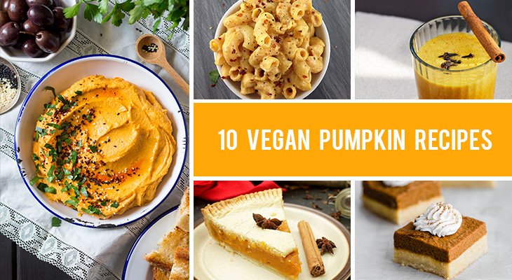 10 Vegan Pumpkin Recipes - Both Sweet and Savory