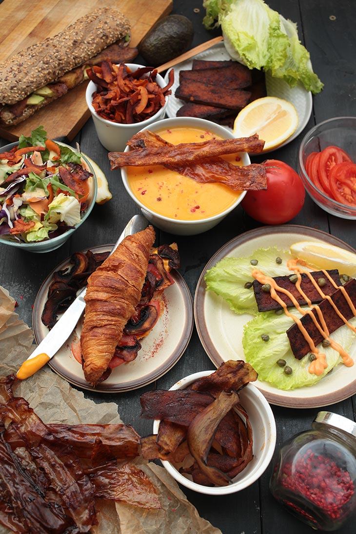 vegan bacon recipes
