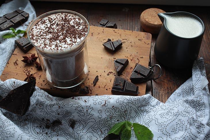 vegan hot chocolate homemade recipe