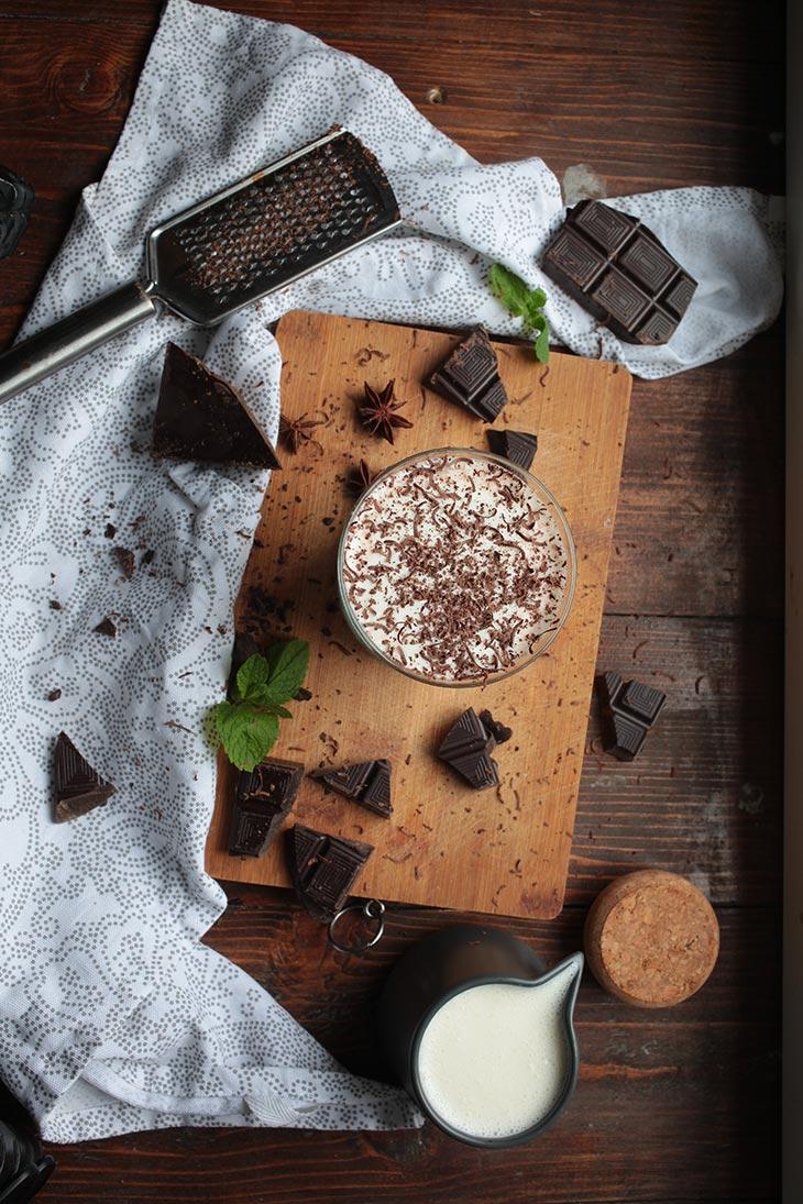 vegan hot chocolate homemade
