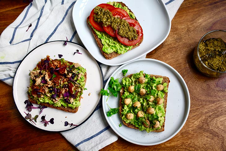 Best Smashed Vegan Avocado Toast Recipes