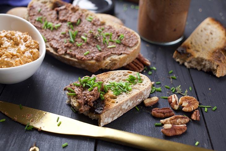 homemade Vegan Mushroom Pâté