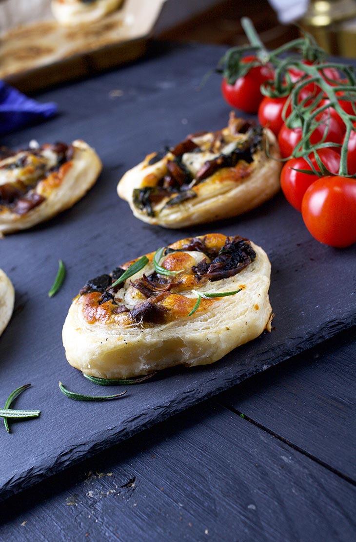 Vegan Mushroom Pinwheels recipe