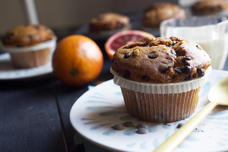 easy sweet potato muffins