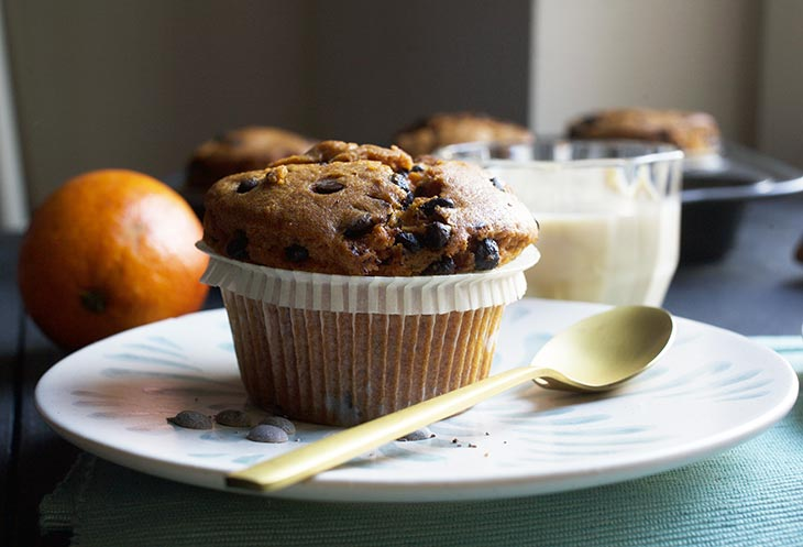 healthy sweet potato muffins