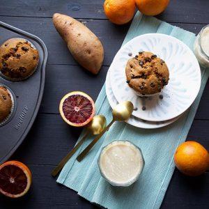 sweet potato muffins briose cu cartof dulce reteta