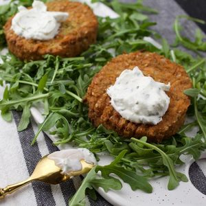 vegan Cauliflower Patties