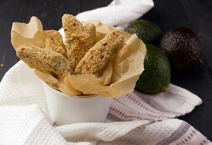 vegan avocado fries recipe