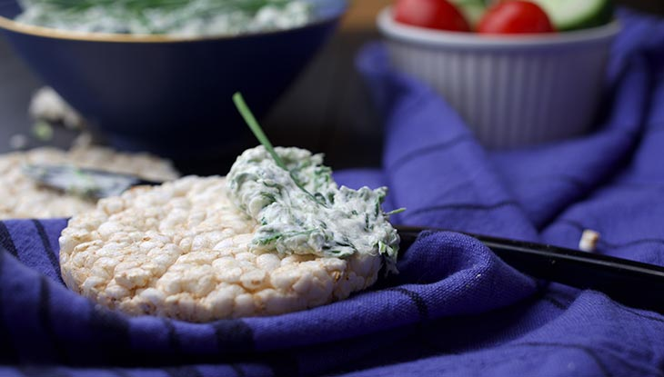 quick vegan spinach dip