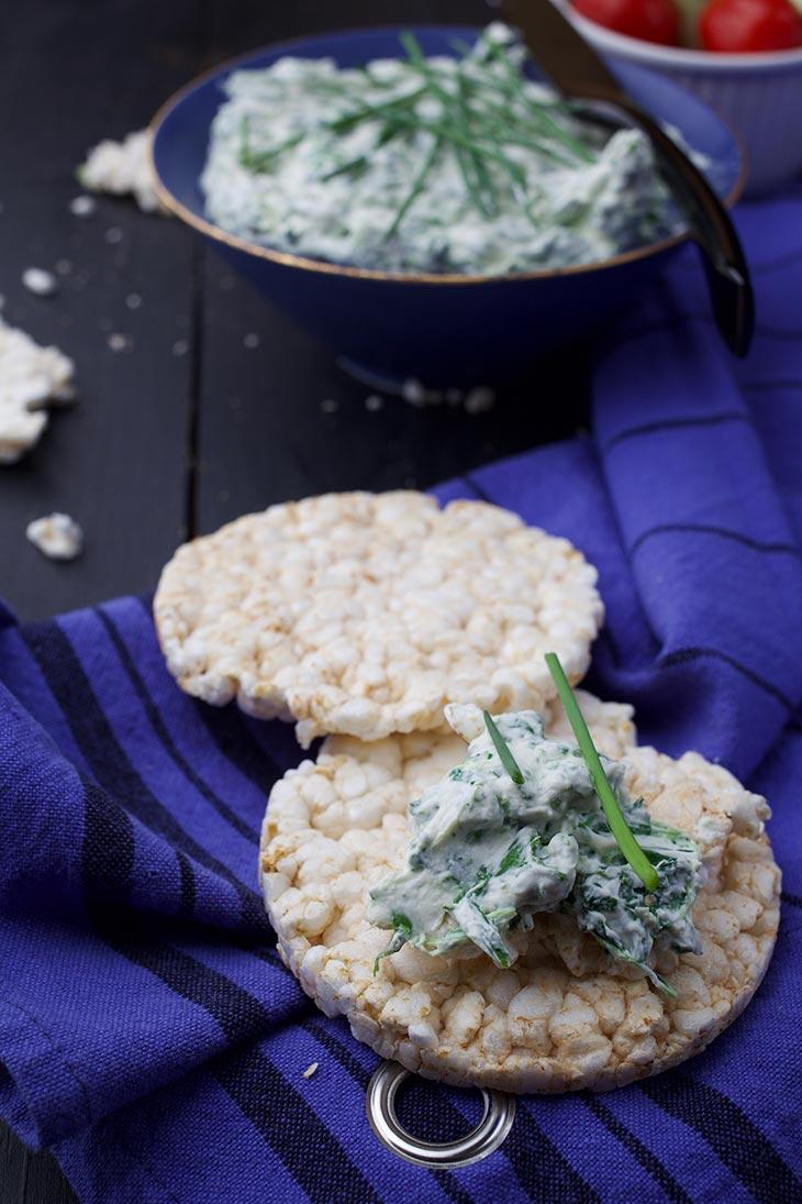 vegan spinach dip recipe
