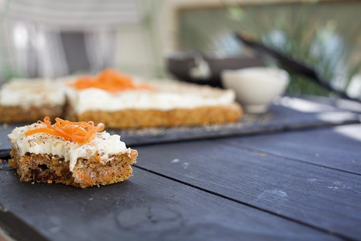 Vegan Carrot Cake dessert