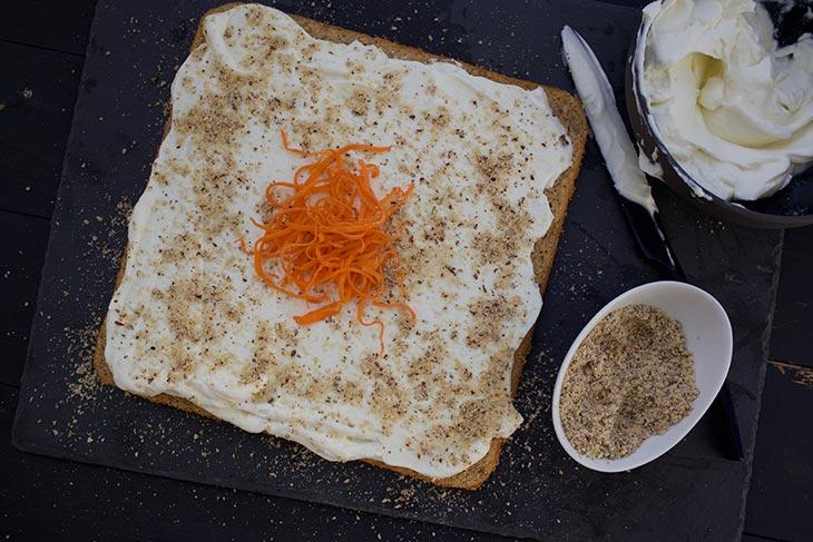 Vegan Carrot Cake tort de morcovi