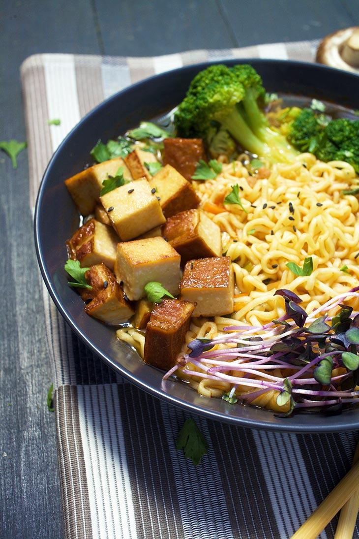 how to make vegan ramen