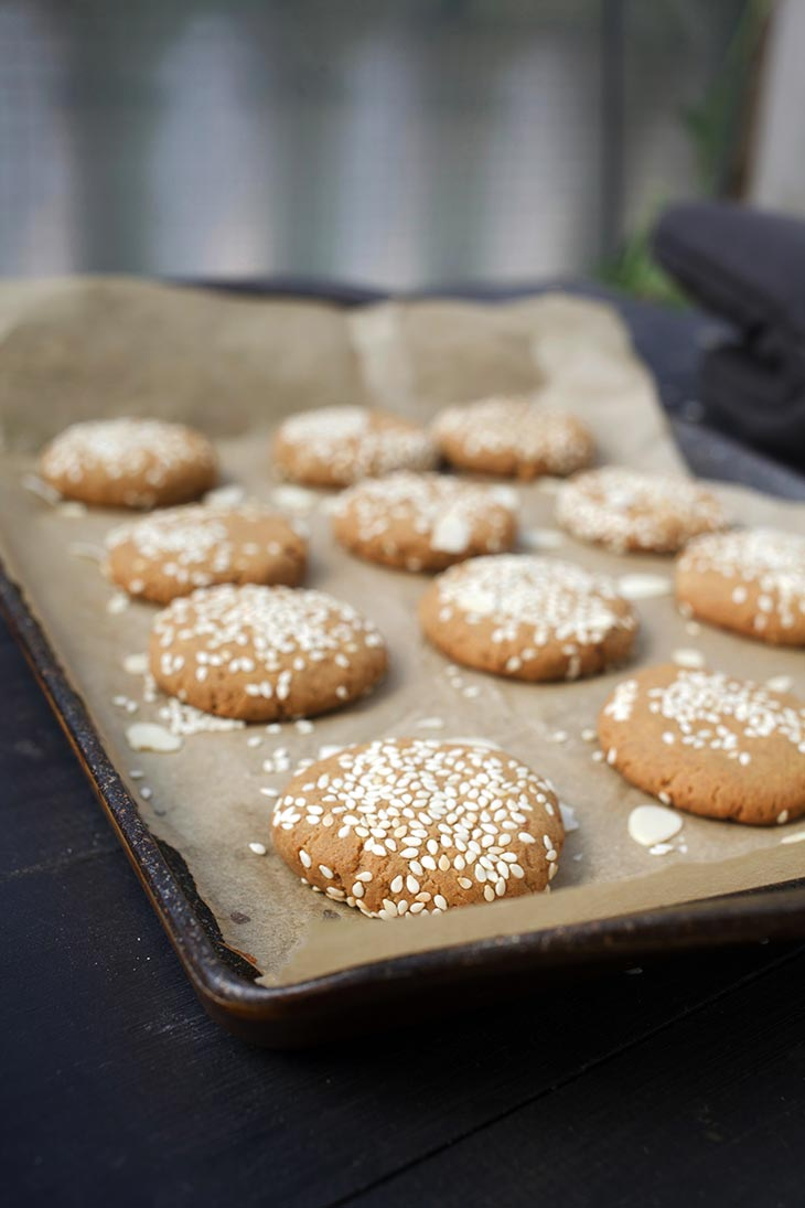 homemade Tahini Cookies