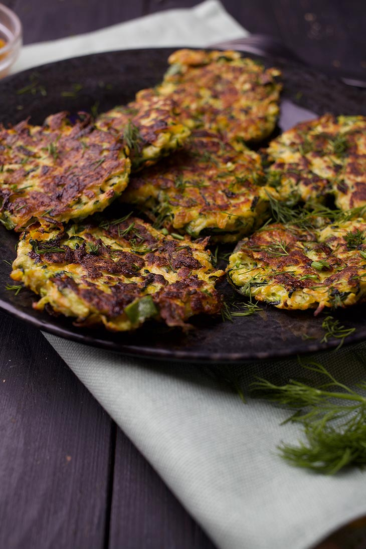 vegan vegetable fritters