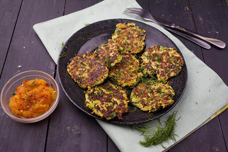 quick vegetable fritters