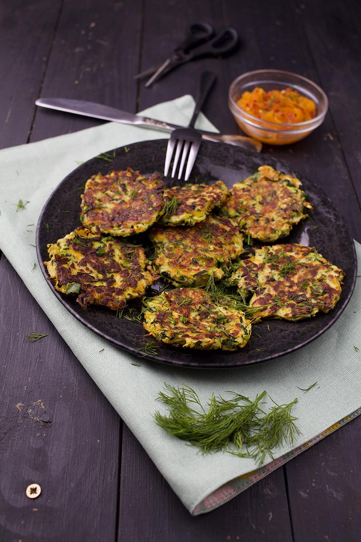 healthy vegetable fritters