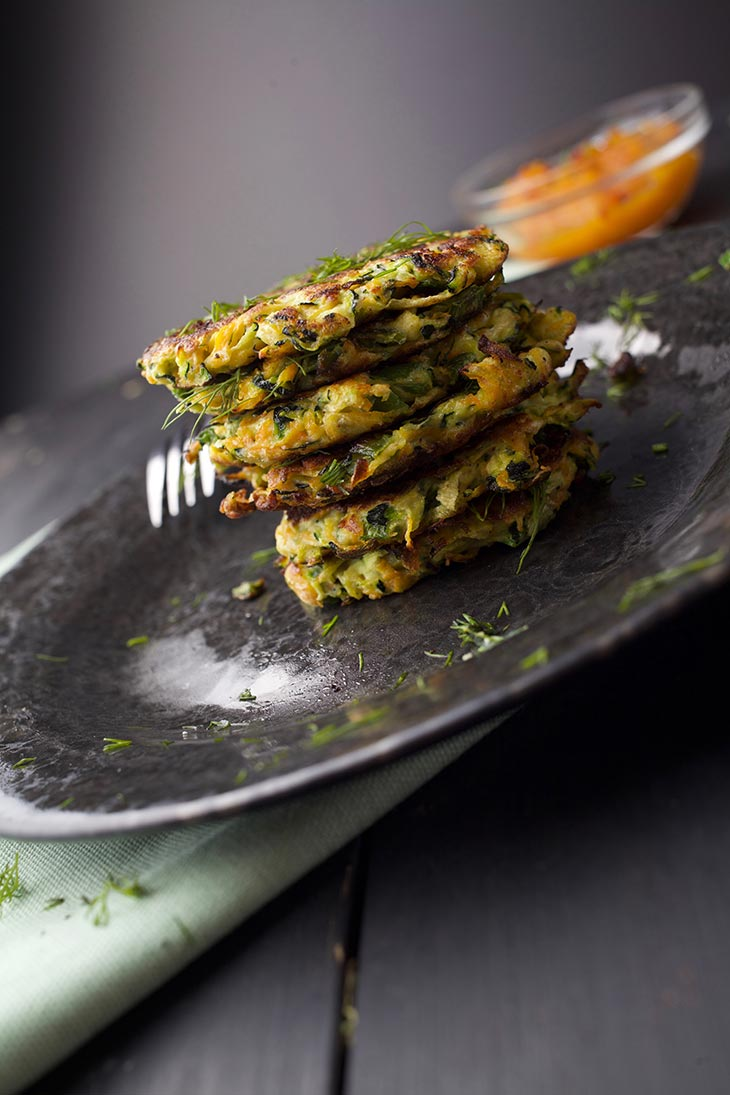 vegetable fritters veggie patties chiftelute de legume