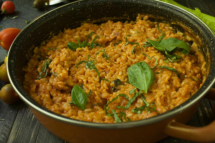 Roasted Tomato Risotto recipe