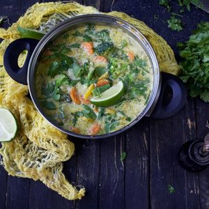 Vegan Green Curry verde