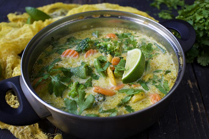 recipe for Vegan Green Curry