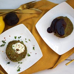 avocado pancakes sweet and savory