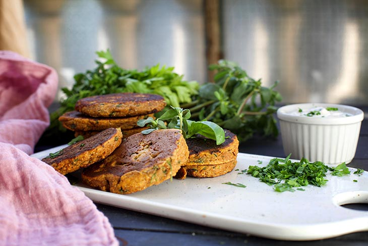 easy sweet potato cakes Chiftelute de cartof dulce