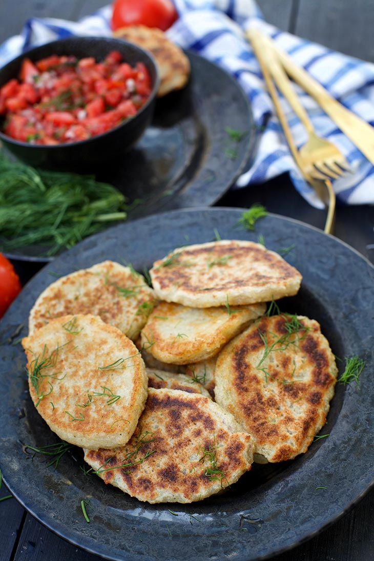 easy potato pancakes recipe