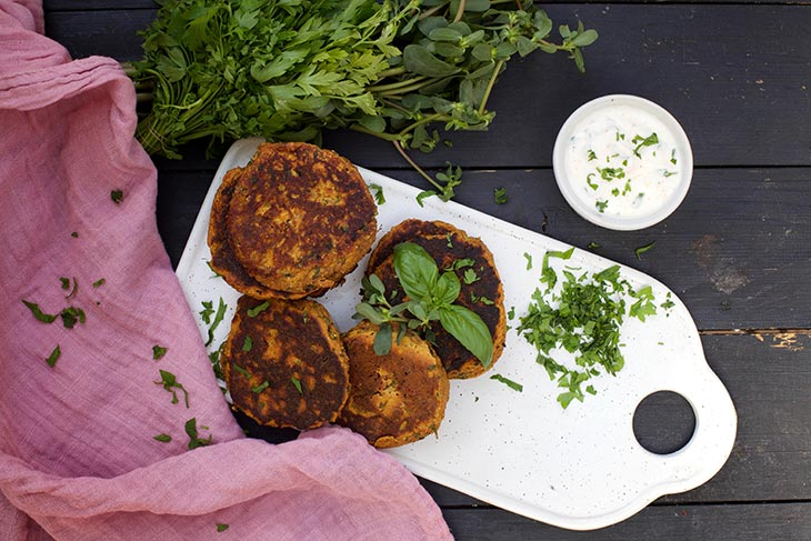 how to make sweet potato cakes