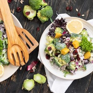 Broccoli Salad keto low carb salata de broccoli reteta