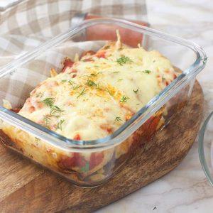 Healthy Vegan Burrito Casserole