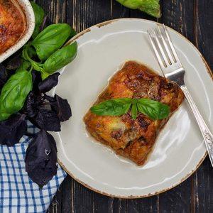 Skinny Zucchini Lasagna cu dovlecei