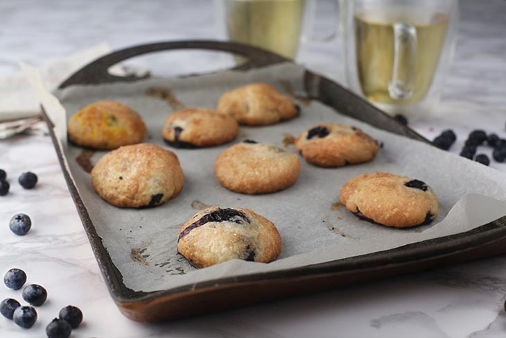 blueberry cookies recipe