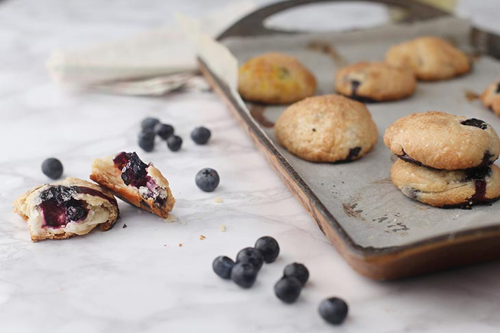 vegan Blueberry Cookies