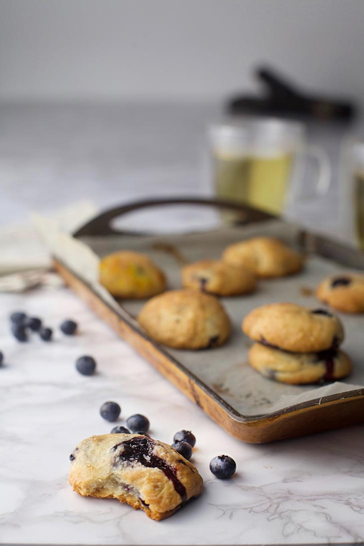 how to make Blueberry Cookies