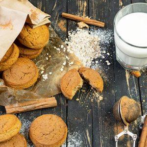 Cinnamon Cookies Biscuiti cu scortisoara si ovaz