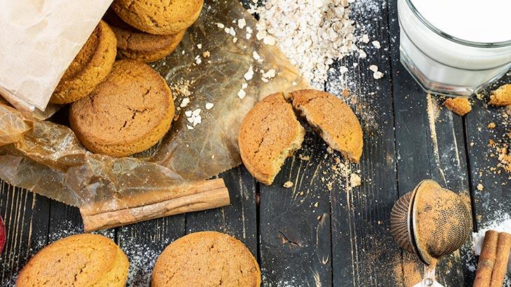 vegan Cinnamon Cookies