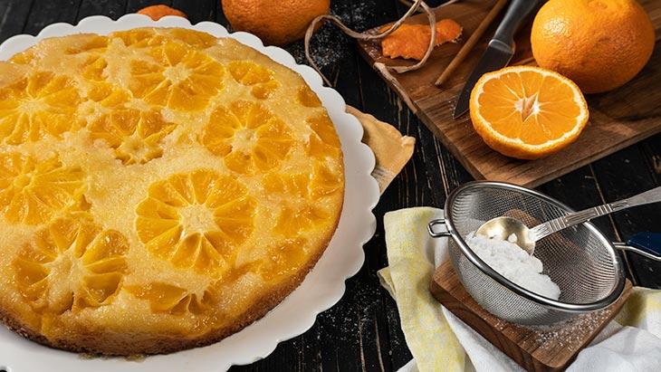 homemade Citrus Upside Down Cake
