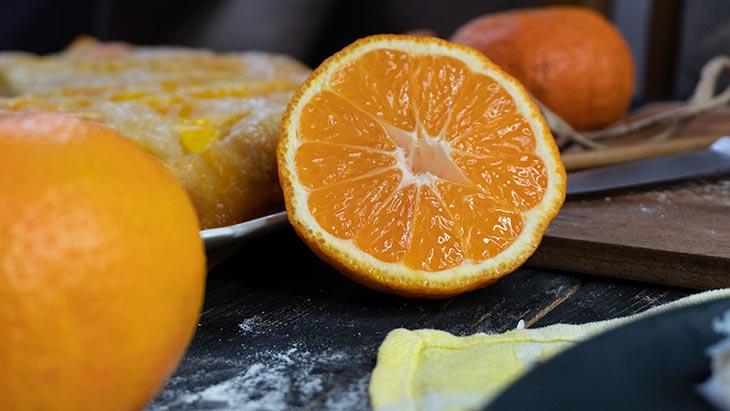 vegan Citrus Upside Down Cake