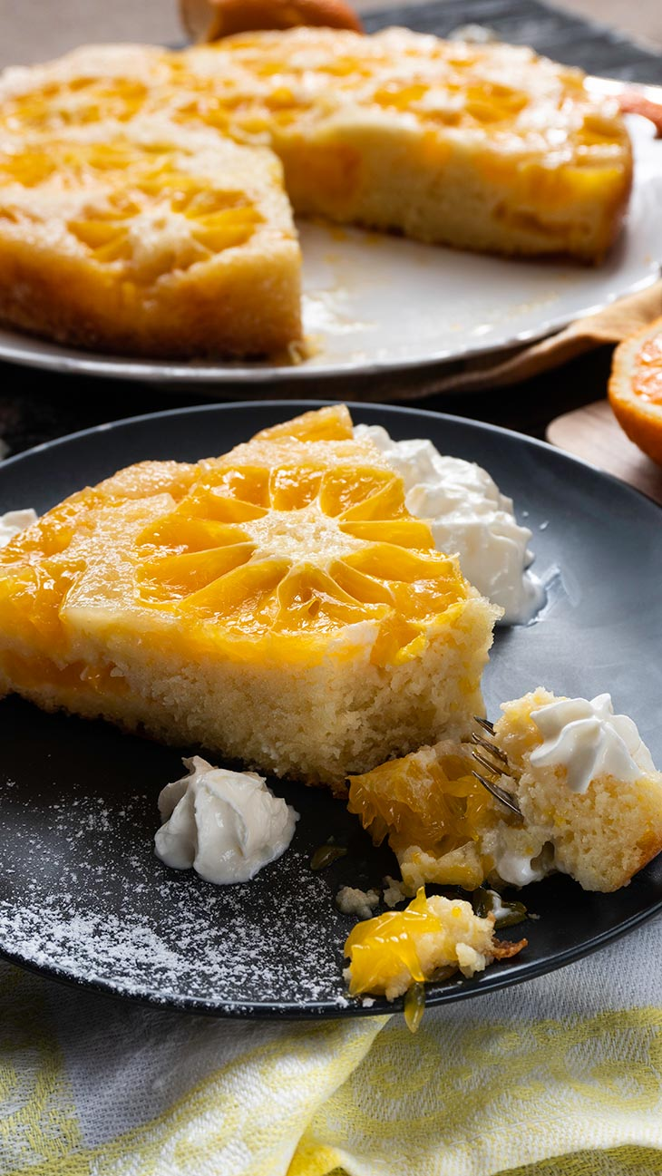 Citrus Upside Down Cake recipe